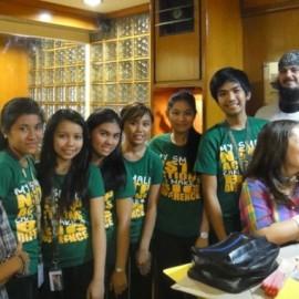 Leukemia Touches FEU NSTP Students