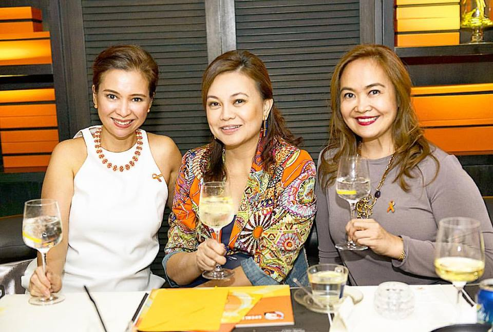 Patty Singson, Jonalyn Lim and Pinky Antonio