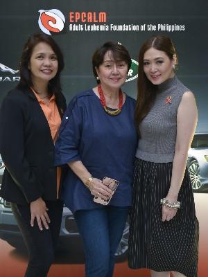 Dr. Demerre with Linda Ley and Virginia Teves-Laurel